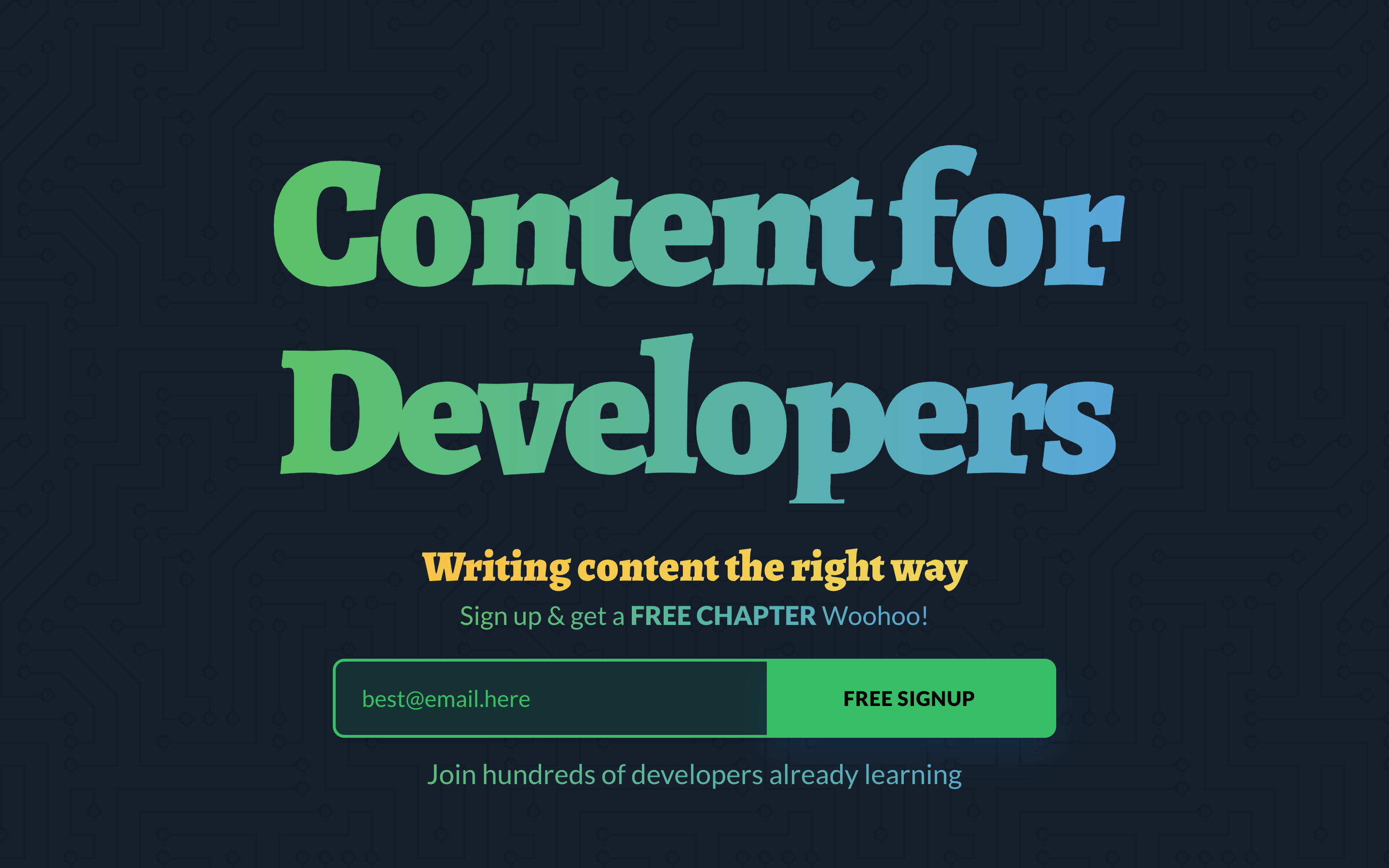 content-for-developers